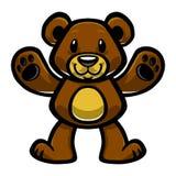 Orso sveglio dell'orsacchiotto Immagini Stock