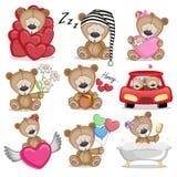 Orso sveglio dell'orsacchiotto royalty illustrazione gratis