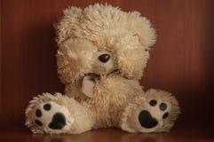 Orso triste dell'orsacchiotto fotografia stock libera da diritti