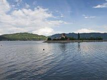 Orsova的多瑙河 库存照片