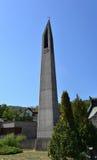 Orsova church tower Royalty Free Stock Photos