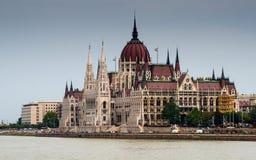 Orszaghaz,匈牙利议会大厦在布达佩斯 库存图片