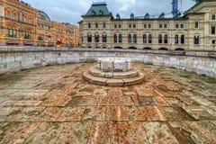 Ort der Ausführung Rotes Quadrat moskau Russland stockfotografie