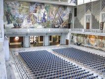 Ort der Friedensnobelpreiszeremonie lizenzfreie stockbilder