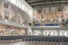 Ort der Friedensnobelpreiszeremonie stockbild