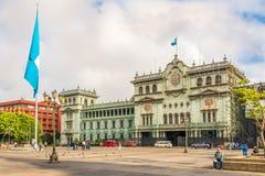 Am Ort von Constitucion in Guatemala-Stadt - Guatemala stockfoto