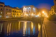 Orta Италия озера стоковые изображения rf