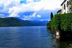 Orta Italia del lago Foto de archivo