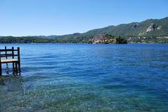 Orta lake Royalty Free Stock Photography