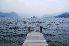 Orta lake, Italy Stock Photography