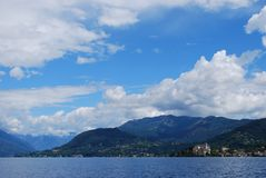 Orta lake, Italy Stock Photo