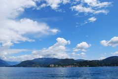 Orta lake, Italy Royalty Free Stock Photos