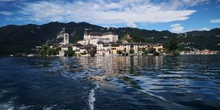 Orta Lake royalty free stock photos