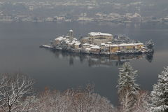 Orta lake Stock Photos