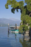 Orta Lakescape stock photo