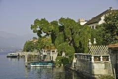 Orta Lakescape royalty-vrije stock fotografie