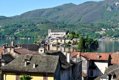 Orta san giulio Royalty Free Stock Photos