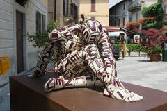 Orta San Giulio Royalty Free Stock Photos