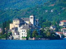 Orta San Giulio island Royalty Free Stock Photography