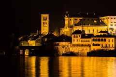 Orta san giulio Royalty Free Stock Images