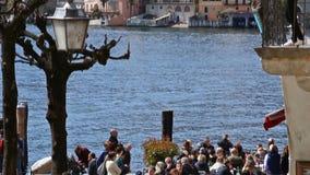 Orta San Giulio, Orta jezioro, Włochy zbiory wideo