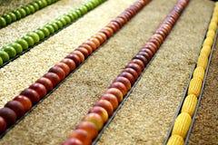 Ortaggi da frutto e granulo Fotografie Stock Libere da Diritti