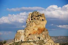 Ortahisar castle stock photography