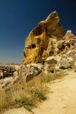Ortahisar Cave City stock photos