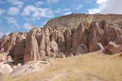 Free Ortahisar Cave City In Cappadocia - Landscape, Turkey Royalty Free Stock Images - 55787739