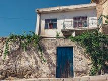 Ortahisar-Stadt in Cappadocia die Türkei Lizenzfreies Stockfoto