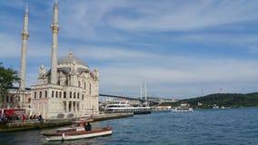 Ortaköymoskee van Bosphorus royalty-vrije stock afbeeldingen