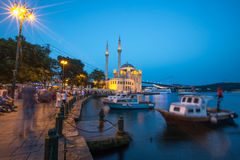Ortaköy Mosque Royalty Free Stock Photos
