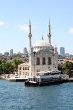 Ortaköy Mosque Royalty Free Stock Images