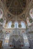 Ortakoy清真寺在伊斯坦布尔,土耳其 免版税库存照片
