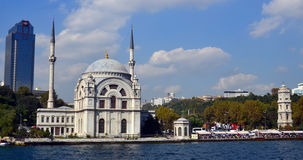 Ortakoy清真寺, 免版税图库摄影
