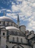 Ortakoy清真寺(Buyuk Mecidiye Camii) 图库摄影