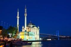 Ortakoy, Стамбул Стоковые Фото
