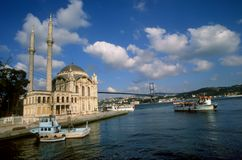 Ortakoy Foto de Stock Royalty Free