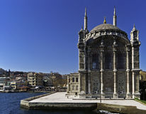 Ortakoy Camii Royalty Free Stock Photography