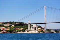 Ortakoy, Costantinopoli Immagini Stock Libere da Diritti