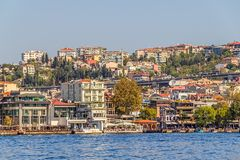 Ortakoy district Royalty Free Stock Photo