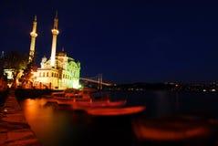 Ortakoy- Estambul Imagen de archivo libre de regalías