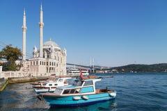 Ortakoy, Istanbul Stockbild