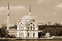 ortakoy meczetu Obrazy Royalty Free