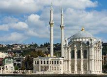 Ortakoy Moschee Stockbild