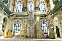 ortakoy moské Royaltyfri Fotografi