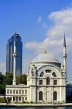 ortakoy moské Arkivbild