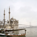 Ortakoy Mosque Stock Images