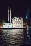 Ortakoy Mosque Stock Image