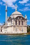 Ortakoy Mosque Stock Photo